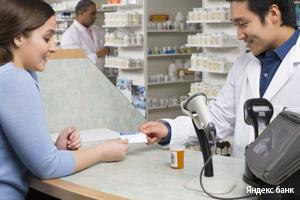 Визитка в аптеке
