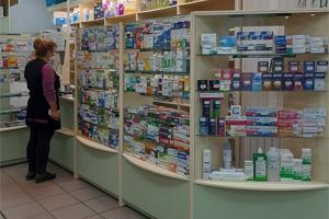 Торговый зал аптеки